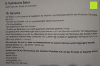 Garantie: Beurer HK 44 Heizkissen (elektrische Wärme in Wärmflaschenform)