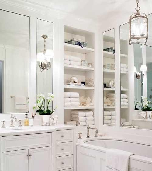 Pure Design White On White Bathroom Ideas  Modern House