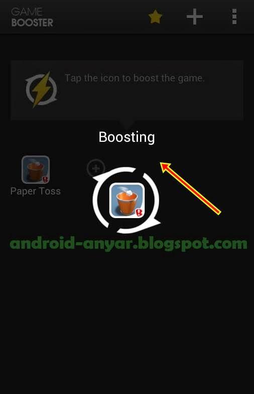 Android booster: menjalankan game besar dengan lancar