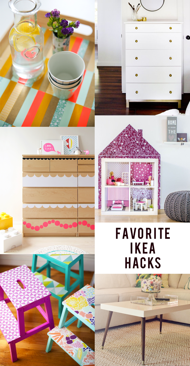 Our Favorite IKEA Hacks // Bubby and Bean