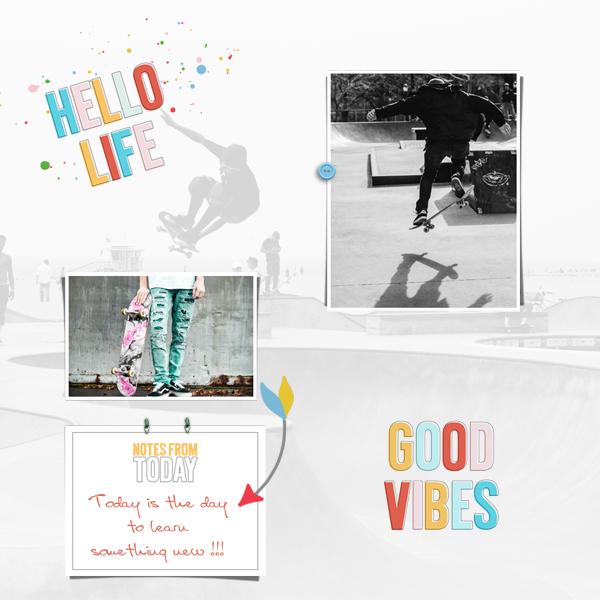 good vibes © sylvia • sro 2018 • good vibes cards by dunia designs