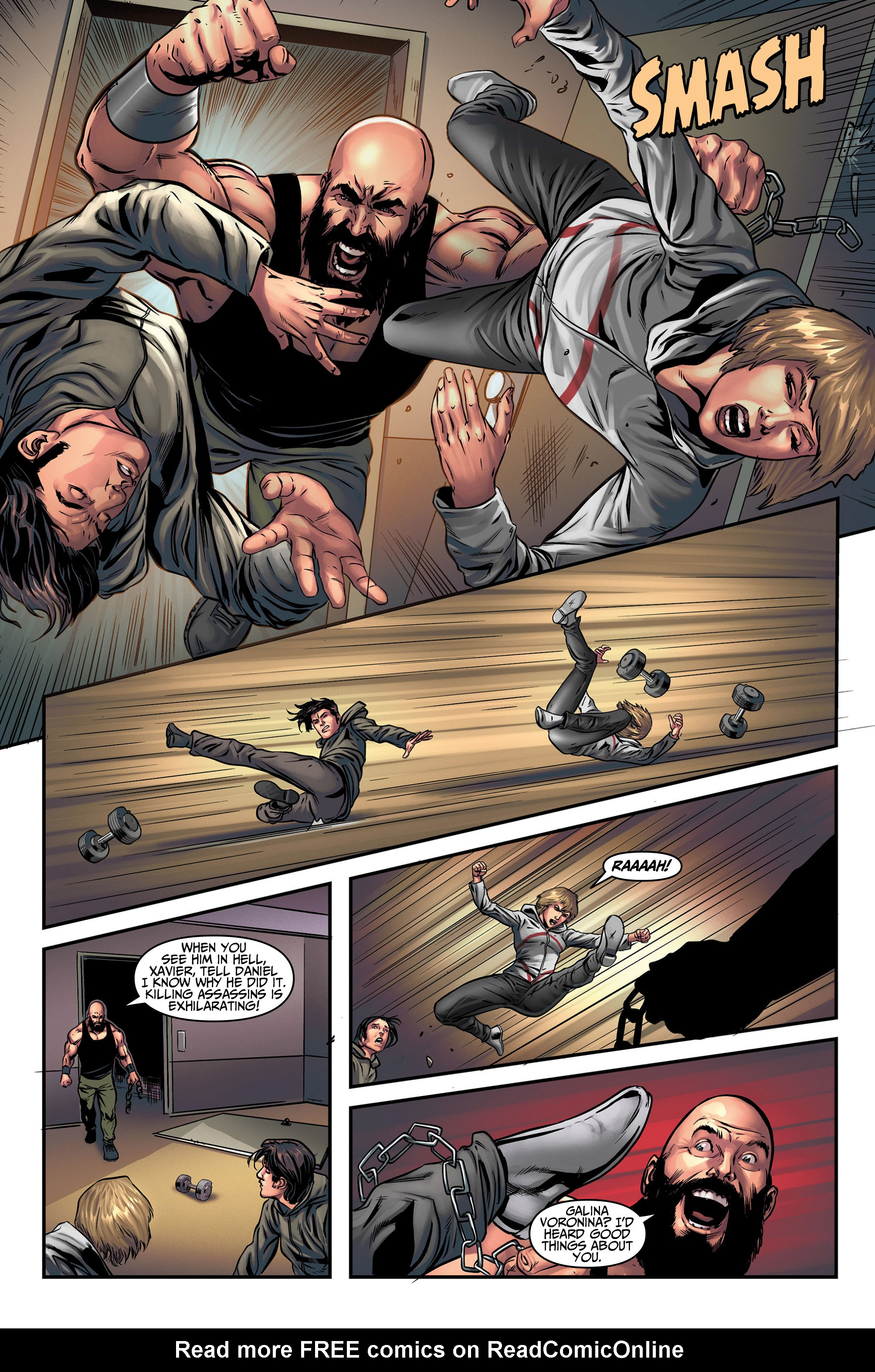 Read online Assassin's Creed (2015) comic -  Issue #5 - 12