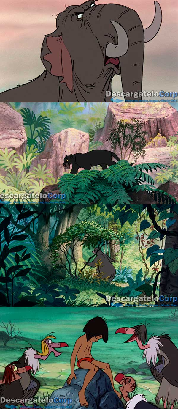 El Libro de la Selva HD 1080p Latino 1967