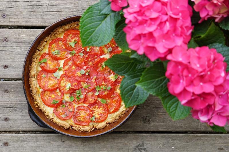 hyvinvointi, tomaattipiirakka