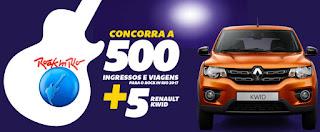 Promoção Km de Vantagens 2017 RIR Carros Zero Renault Kwid