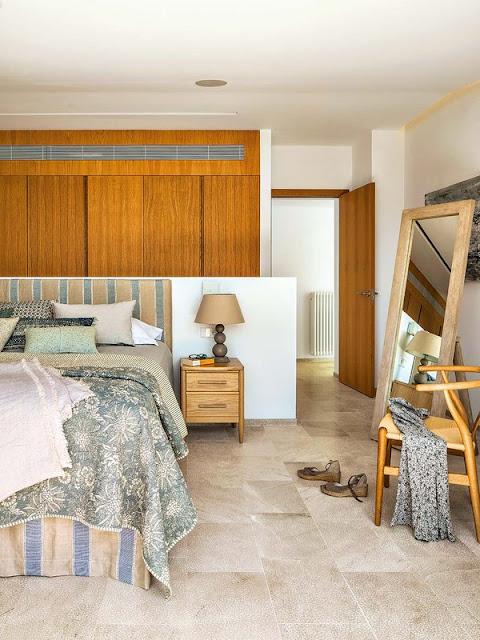 dormitor rustic contemporan