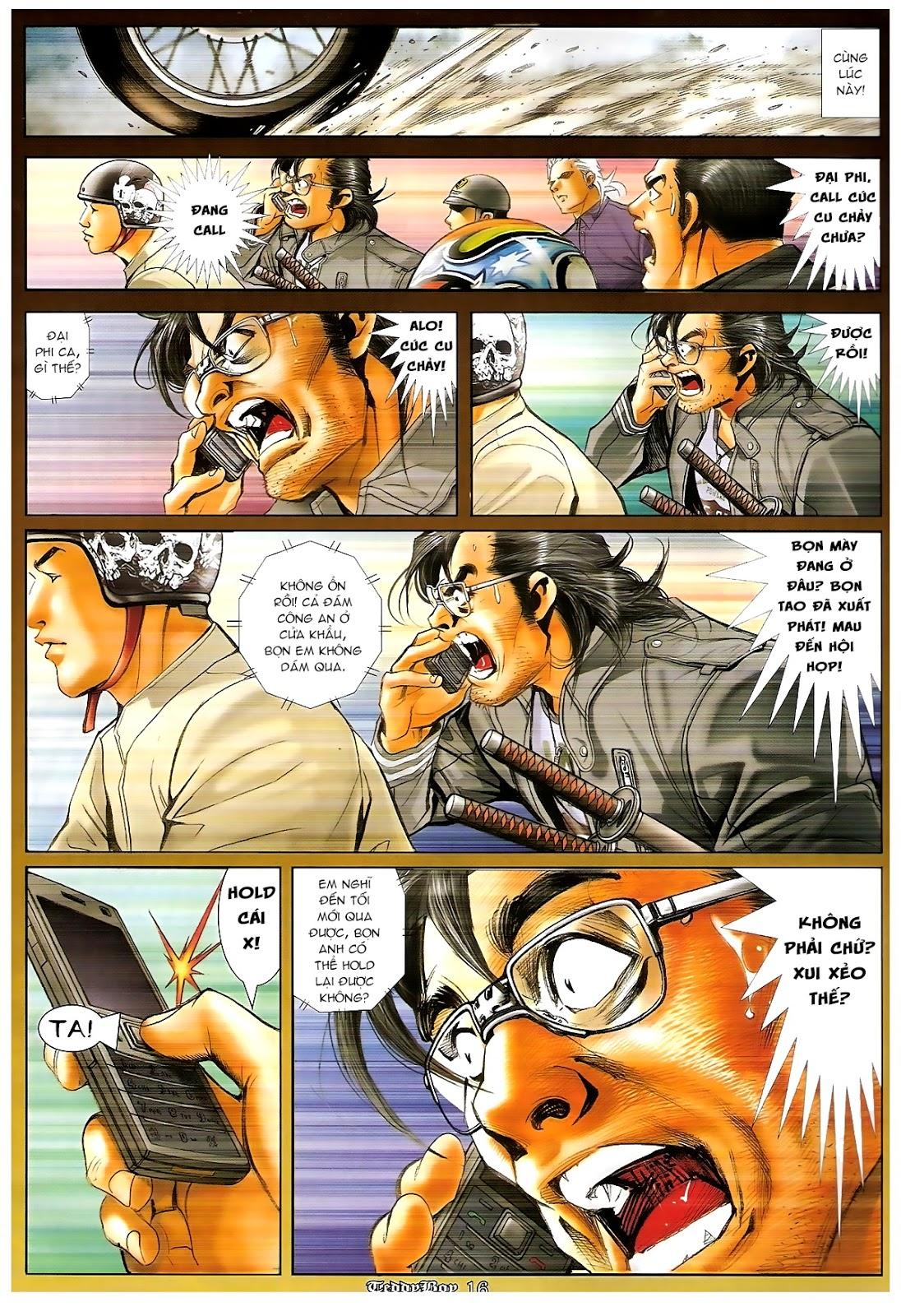Người Trong Giang Hồ - Chapter 1218: 1 vs 1000 - Pic 15