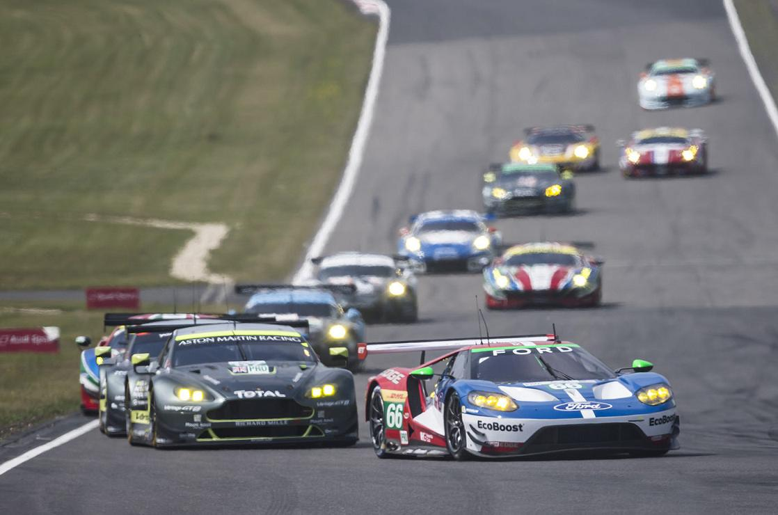 13 Gte Cars In The 2017 Fia World Endurance Championship