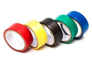 Instalaciones eléctricas residenciales - cintas aislantes de colores