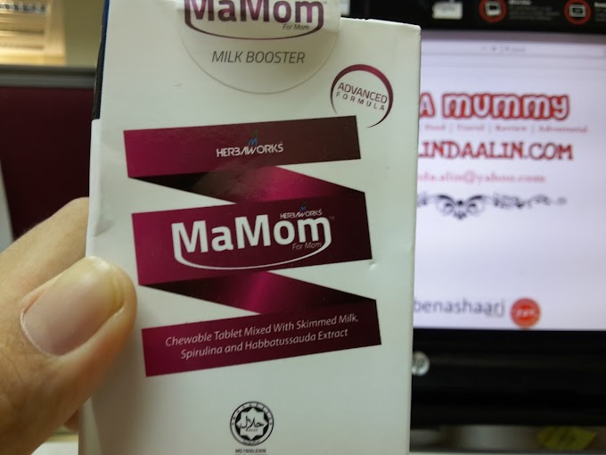Berkesan ke MaMom Herbaworks® Milkbooster Chewable Tablet Tambahkan Susu Badan