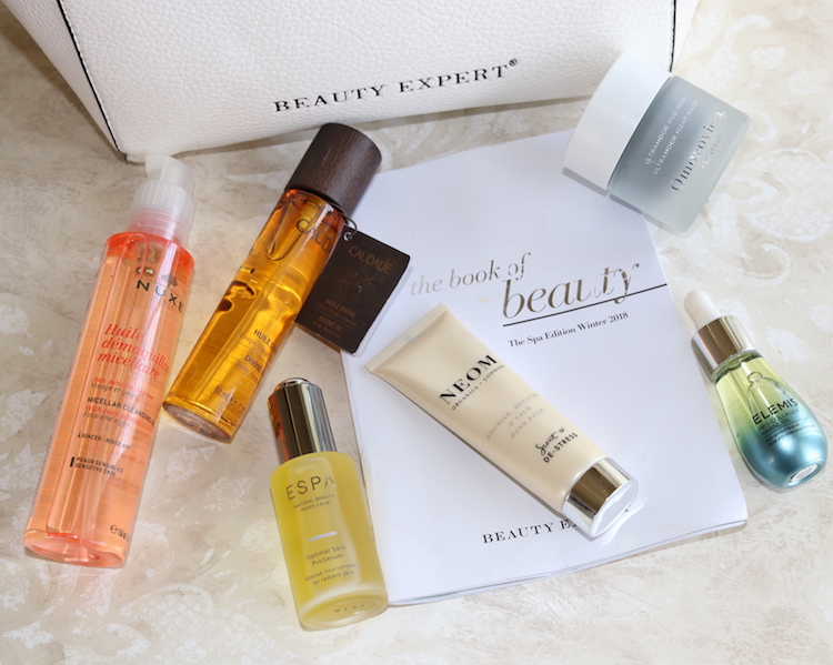 Unboxing, and contents of the Beauty Expert Spa Edition Collection for Winter 2018.