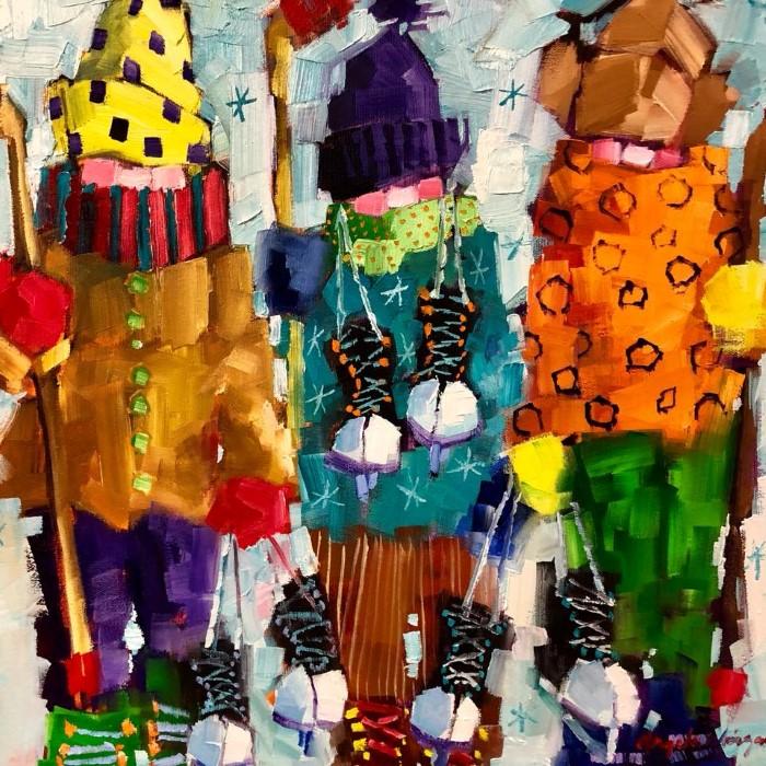 Канадский художник. Angela Morgan 3