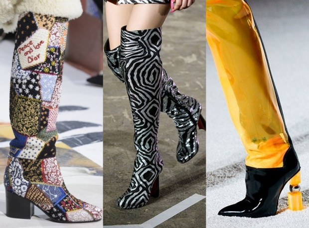 Fall-Winter 2018-2019 Women's Boots Fashion Trends
