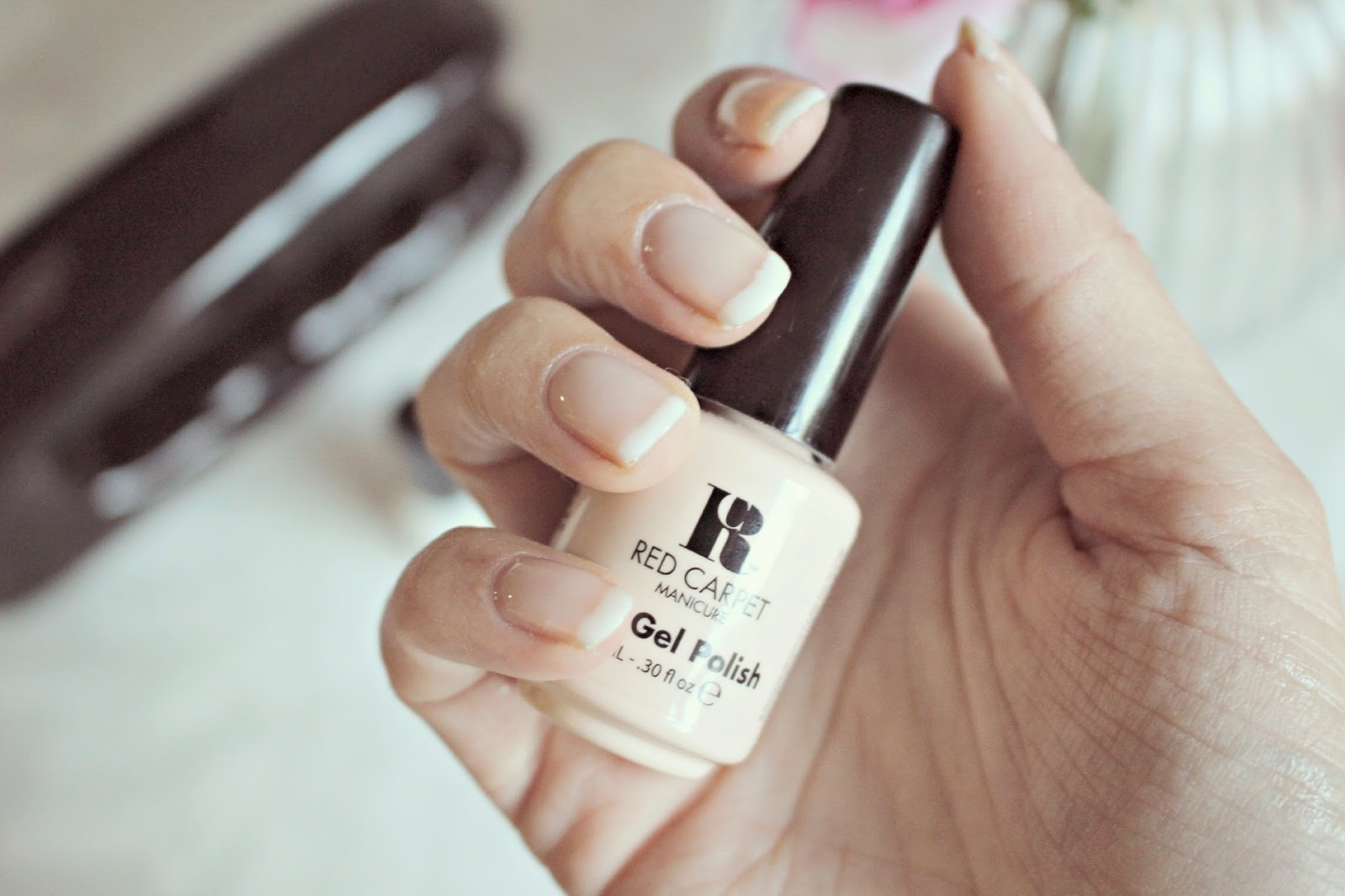 French Manicure Gel Nails At Home