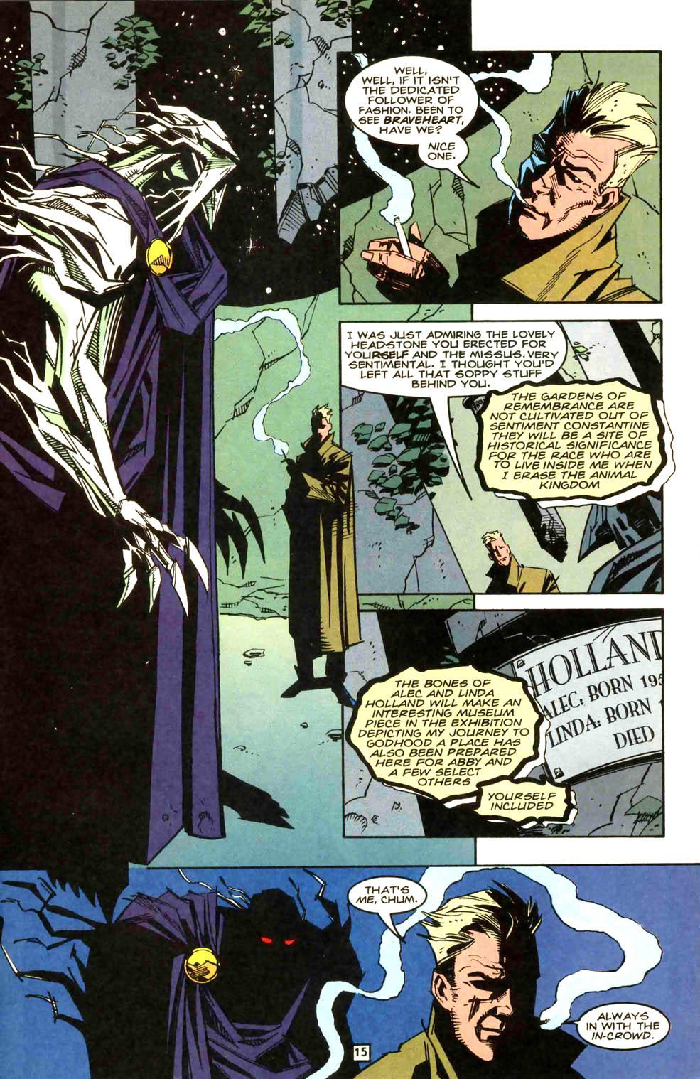 Swamp Thing (1982) #169 #177 - English 16