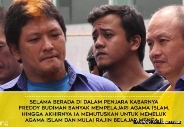 Freddy Budiman Raja Dadah Indonesia