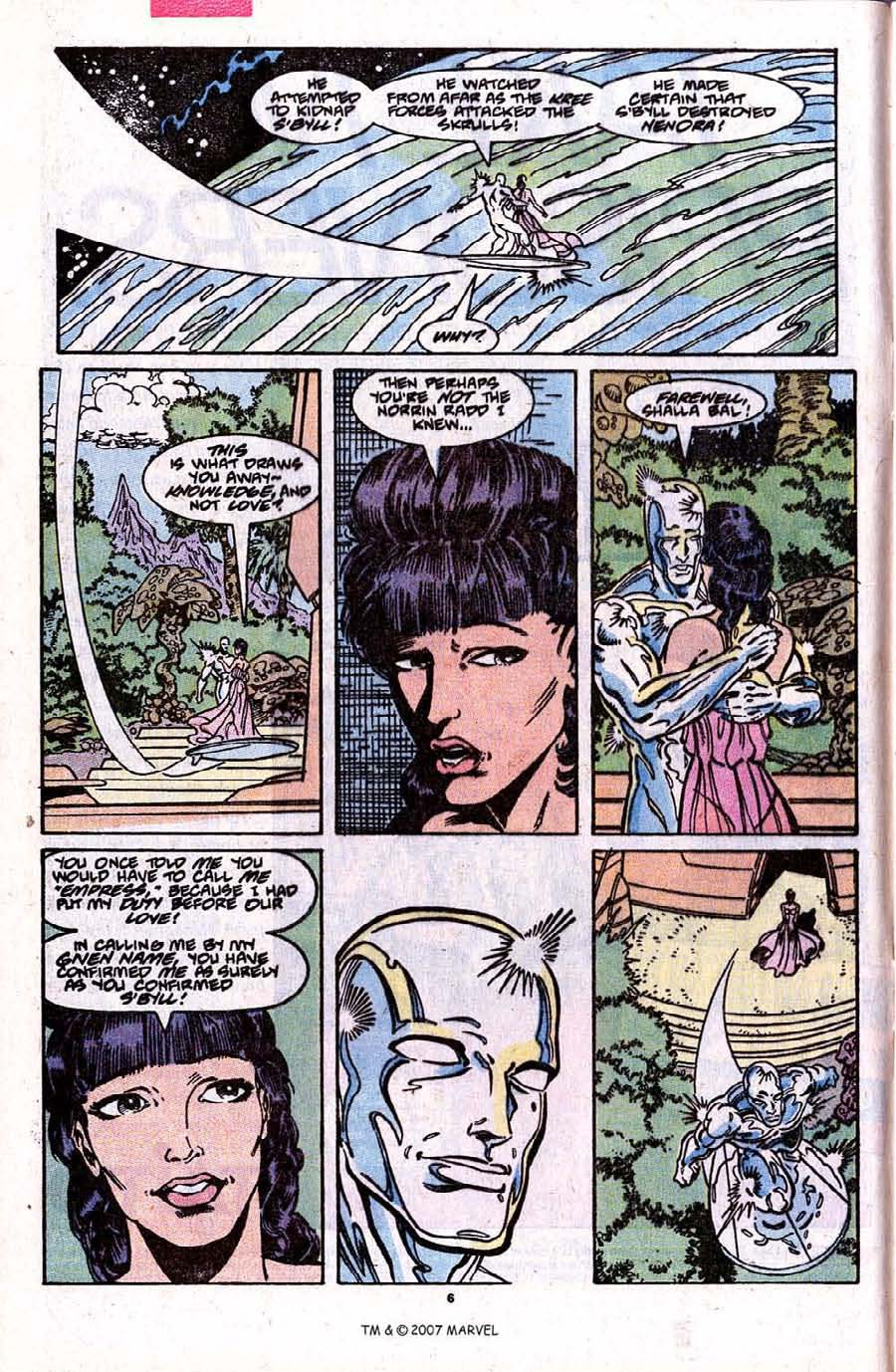Read online Silver Surfer (1987) comic -  Issue #31 - 8