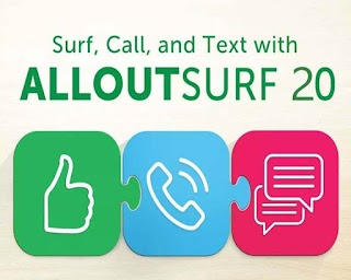Smart All Out Surf 20 – Unli text to All Networks, 150MB Data + Call