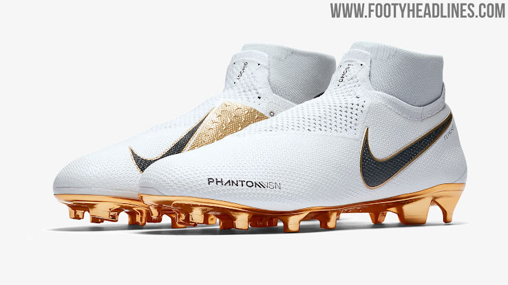 White   Gold Nike Phantom Vision Limited-Edition Boots Launched ... 0bbc1311868a