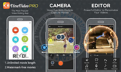 Vivavideo Video Editor Pro v4.5.8 Apk + Mod Full