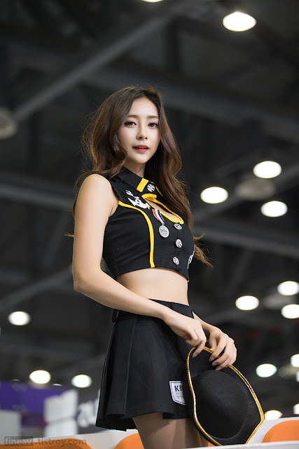 3 Seo Han Bit 2016 Korea International Boat Show - very cute asian girl-girlcute4u.blogspot.com