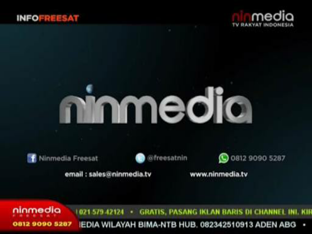 Daftar Channel Ninmedia Freesat di Satellit Chinasat 11