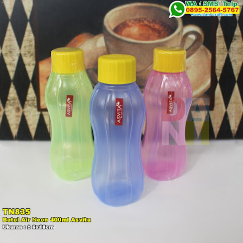 Botol Air Neon 400ml Asvita
