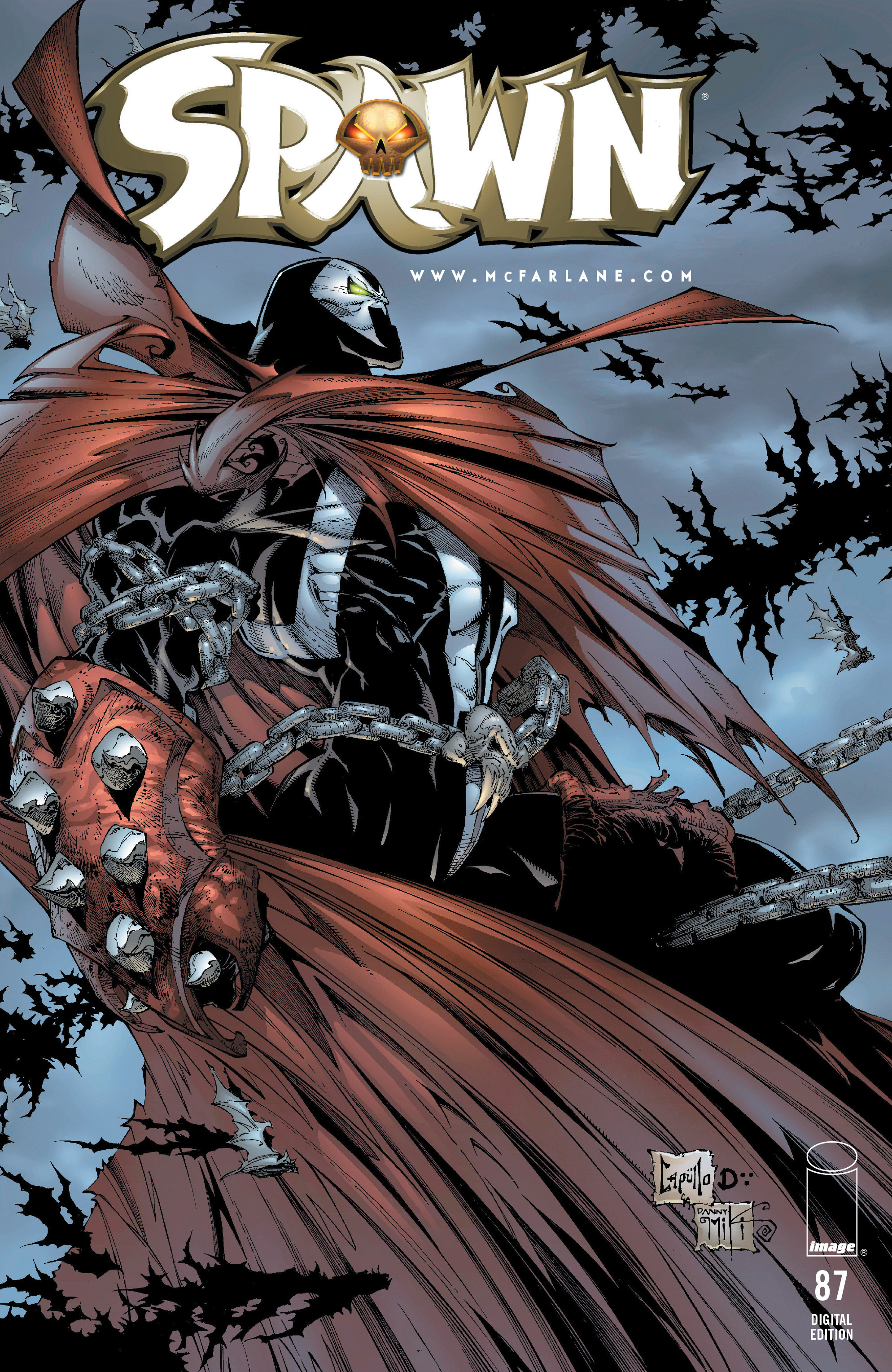 Spawn 87 Page 1