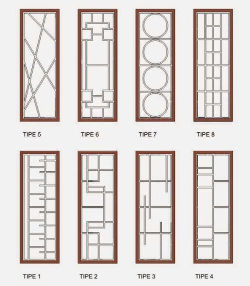 Model teralis pintu minimalis terbaru