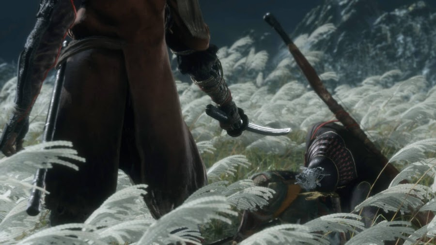 sekiro shadows die twice genichiro ashina first boss beaten
