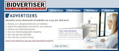 Bidvertiser - adsense alternative