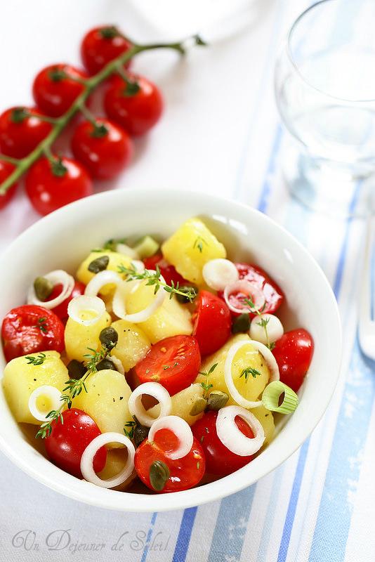 Salade de pommes de terre à la sicilienne