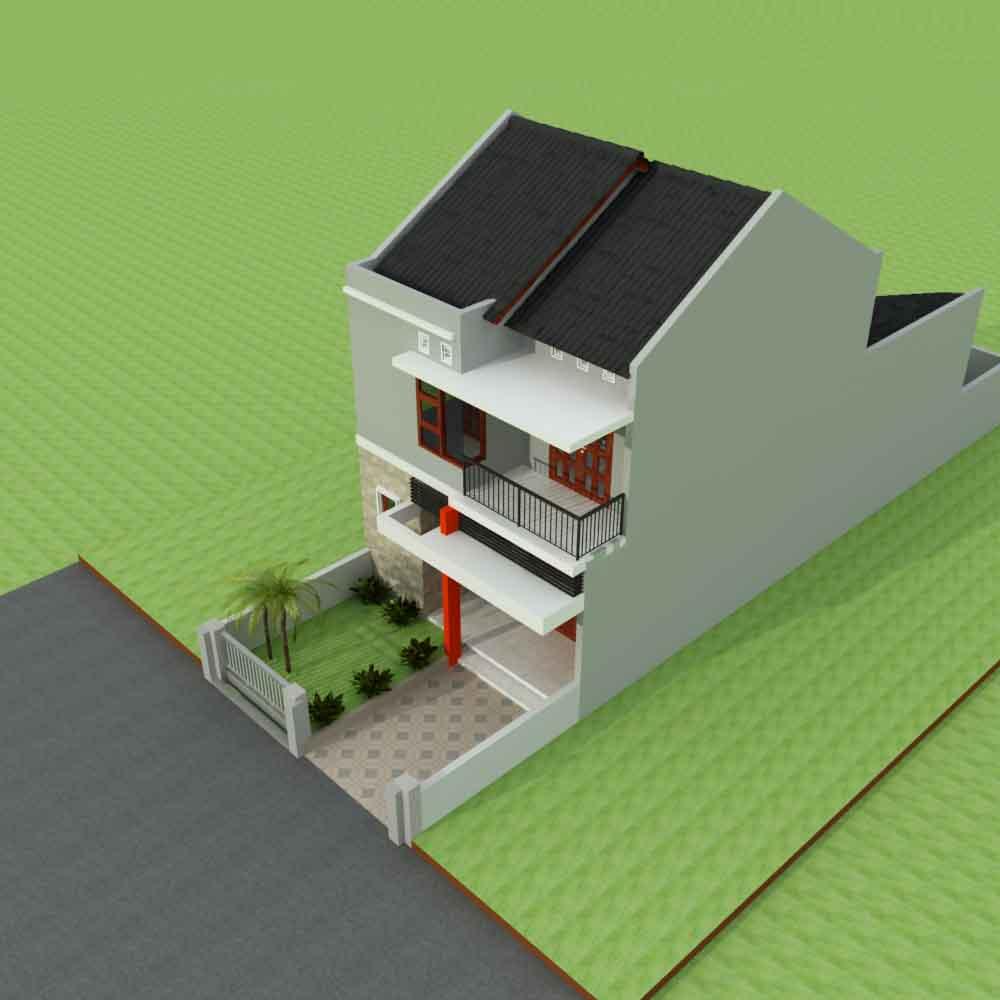 44 Desain Atap Rumah Minimalis Modern 2 Lantai Terbaru 2017