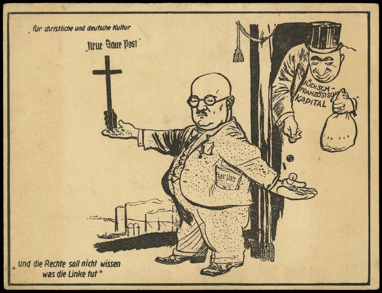 Image result for nazi anti semitic cartoon