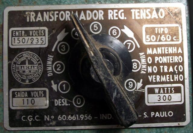 Placa Transdormador Regulador de Tensão