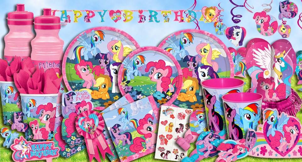 Littlest Party Amp Toys My Little Pony Theme Birthday Ideas