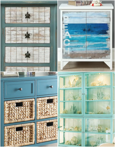 Coastal Cabinets Dressers Decorative Designs