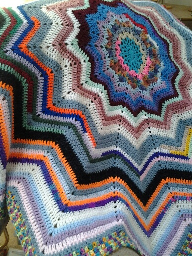 Ideal Delusions Basic Round Ripple Afghan Pattern
