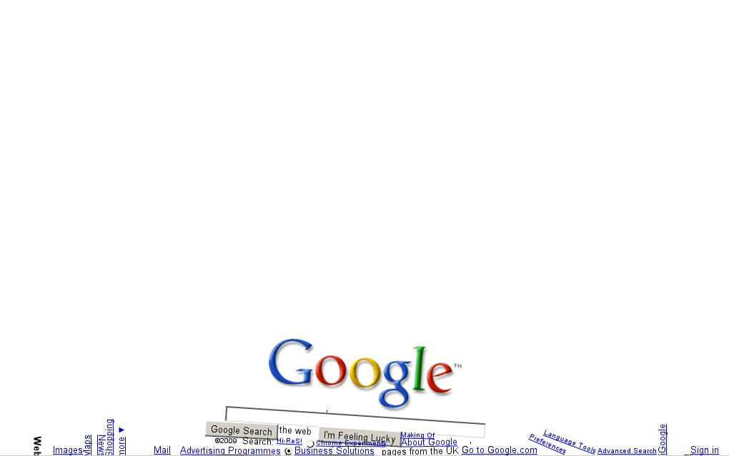 Google gravity mr doob click for details google gravity mr doob click