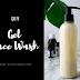 DIY Gel Face Wash