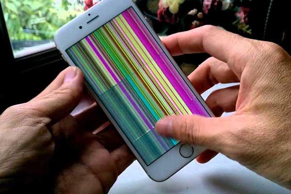 Màn hình iphone 6s plus bị hỏng hóc