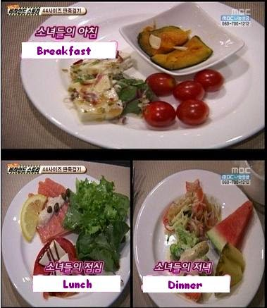 The SNSD Diet