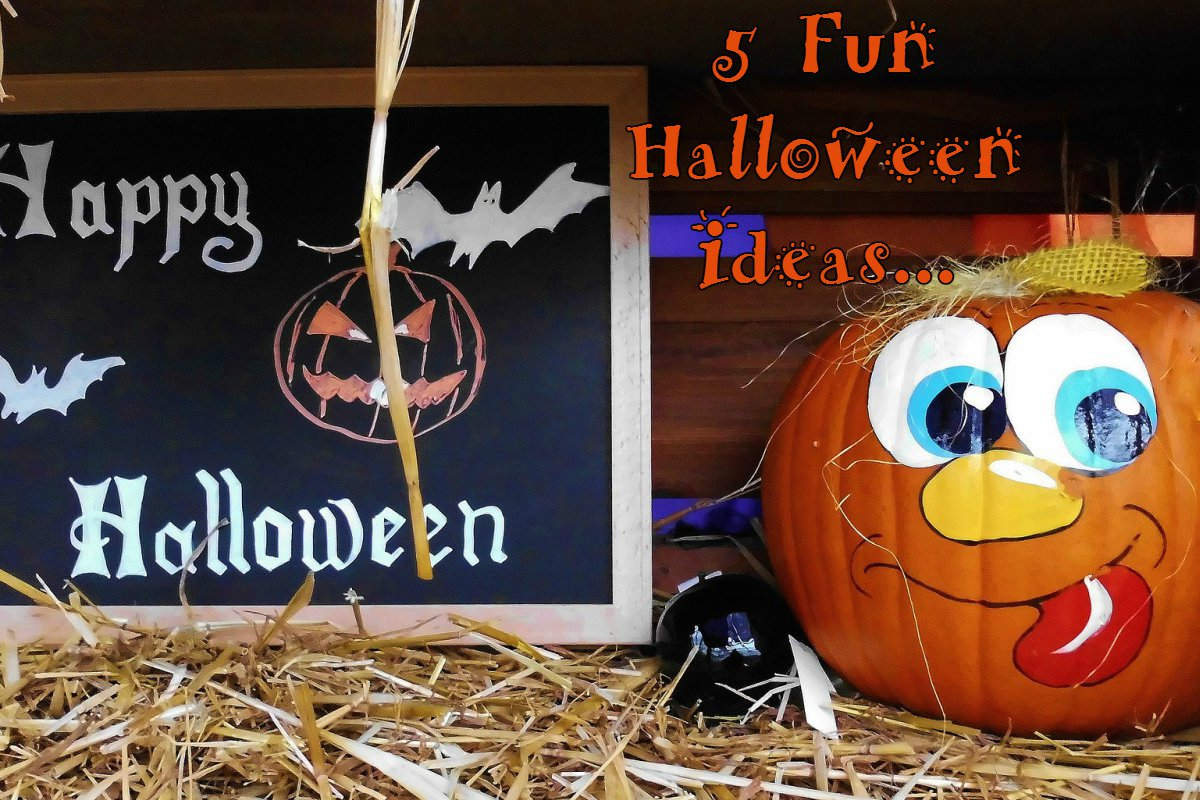 5 Fun Halloween Ideas For Keeping The Children Busy