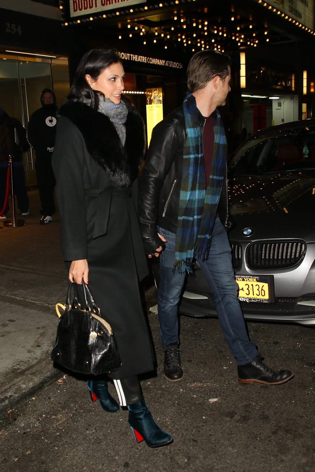 Morena Baccarin - leaving a private screening at Feinstein's/54 Below in NYC - 01/10/2019