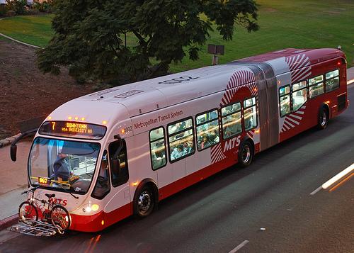 Transporte público de ônibus em San Diego