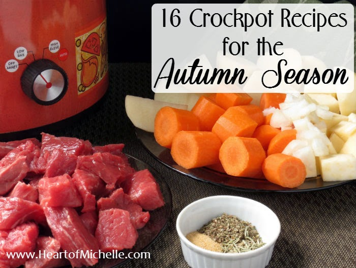 This collection of crockpot recipes is perfect for cooler autumn weather.