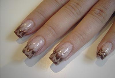 acrylic nail, acrylic nail, Gel Nail Designs, Nail Art, winter nails, Matte Nail Art, French Nail Art,