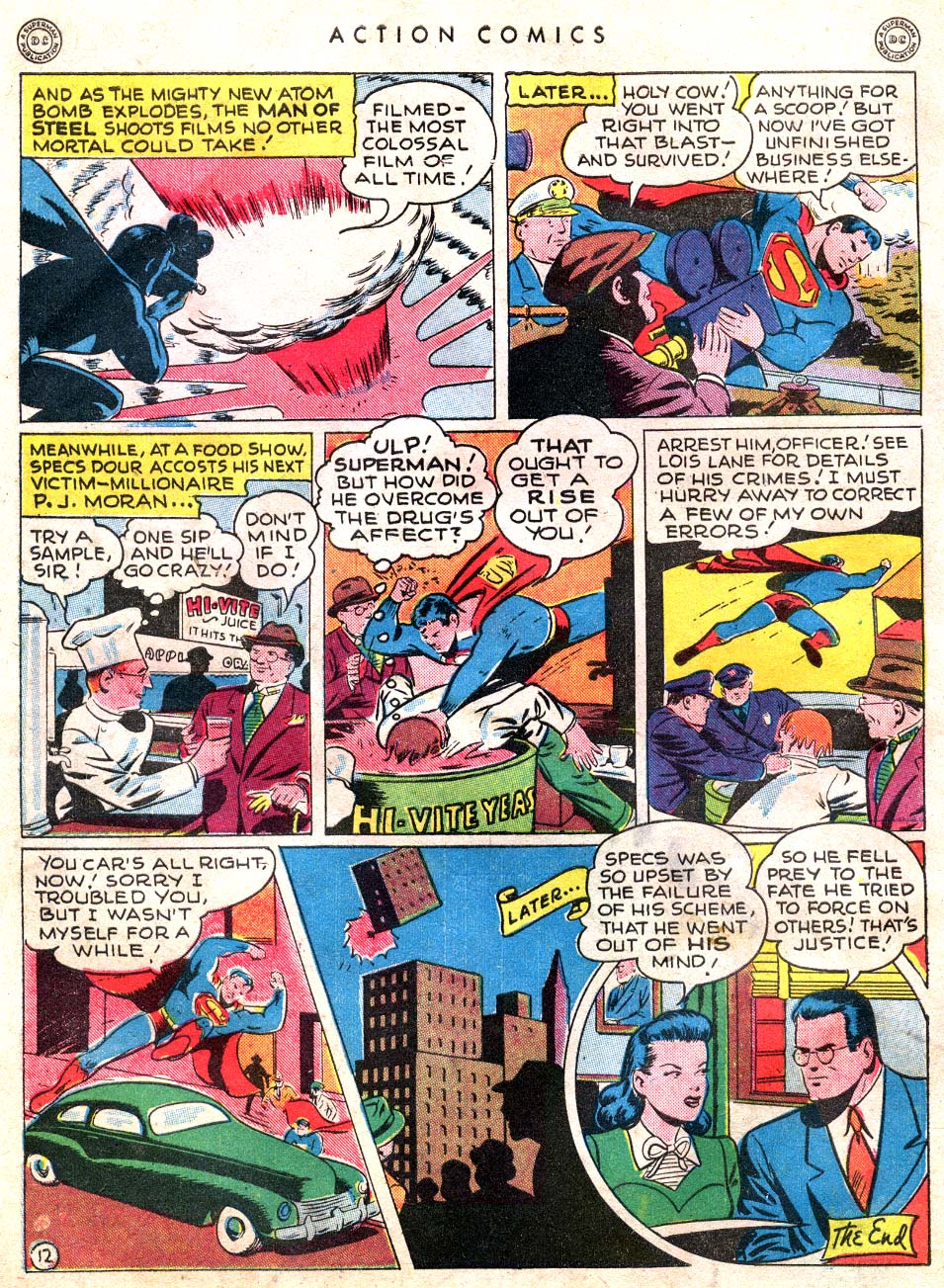 Read online Action Comics (1938) comic -  Issue #101 - 14