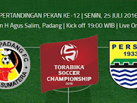 TSC 2016: Semen Padang vs Persib