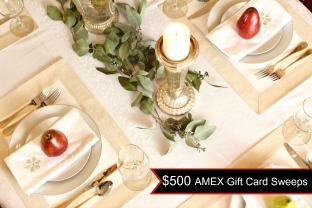 2-$500 AMEX Gift Card Sweeps